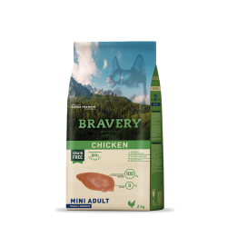 BRAVERY MINI ADULTO POLLO